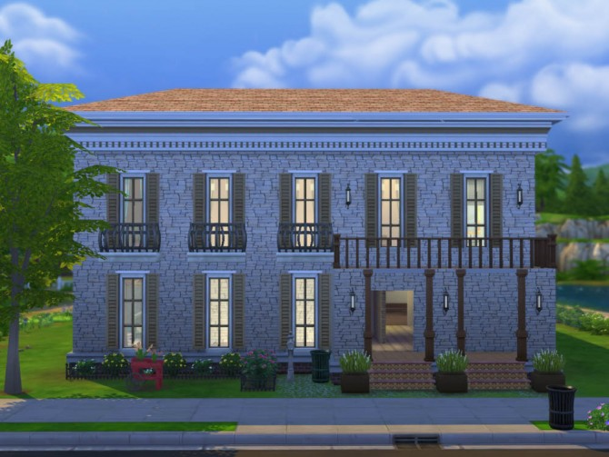Sims 4 Potters Mansion Apartments noCC by Volvenom at Mod The Sims