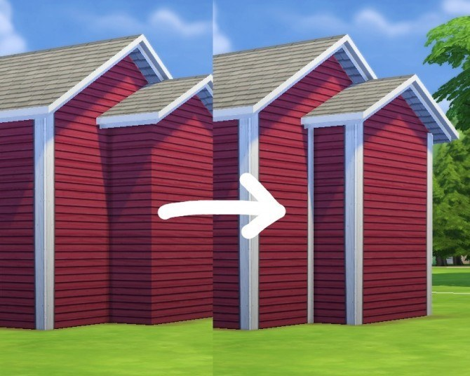 More Corners for Maxis Siding by plasticbox at Mod The Sims image 3161 Sims 4 Updates