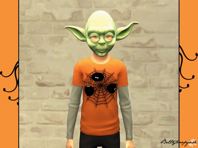 Sims 4 Halloween t shirts by Bettyboopjade at Sims Artists