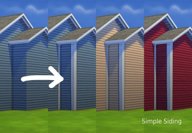 More Corners for Maxis Siding by plasticbox at Mod The Sims image 3341 Sims 4 Updates
