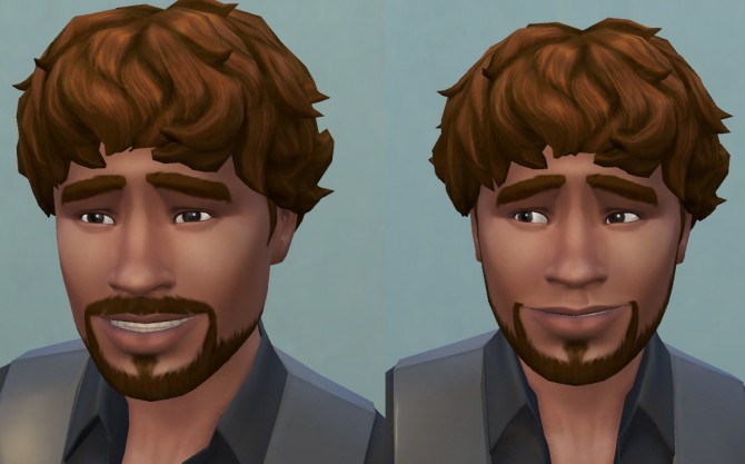 Hollywoodian and Klingon beards S4 by necrodog at Mod The Sims image 335 Sims 4 Updates