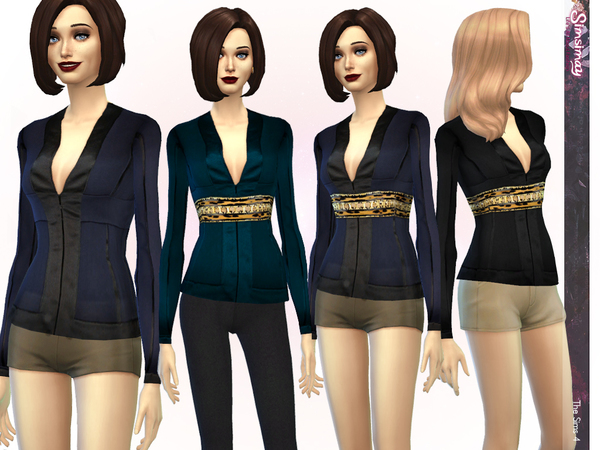 Heart of the Feminine Blazer by Simsimay at TSR image 336 Sims 4 Updates