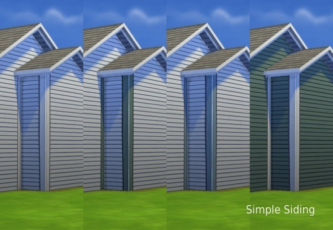 More Corners for Maxis Siding by plasticbox at Mod The Sims image 3441 Sims 4 Updates