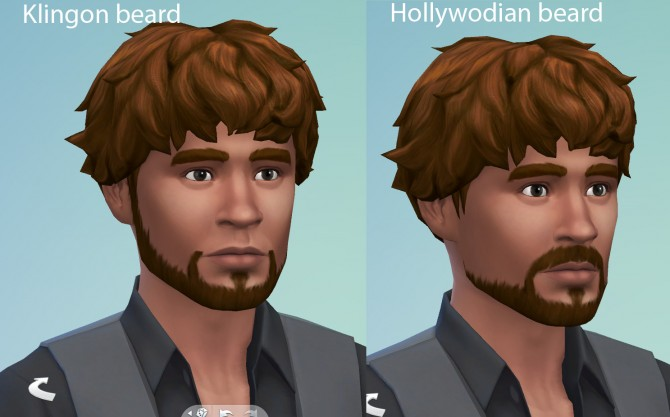 Hollywoodian and Klingon beards S4 by necrodog at Mod The Sims image 354 Sims 4 Updates