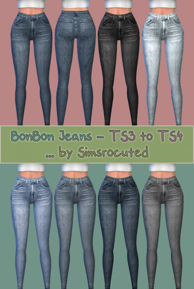 BonBon jeans at Simsrocuted image 361 Sims 4 Updates