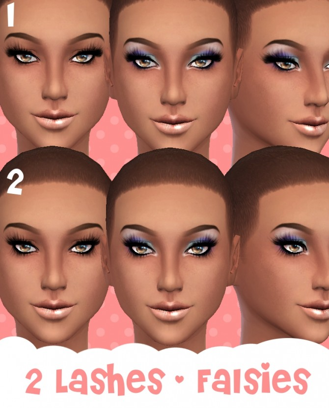 2 Lashes by Cloud9sims at Mod The Sims image 374 Sims 4 Updates