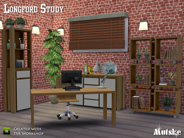Longford Study by Mutske at TSR image 3801 Sims 4 Updates