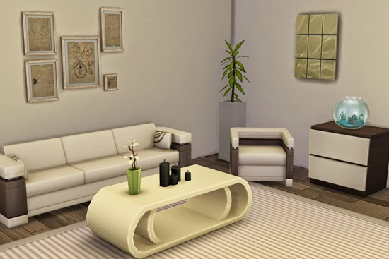 Small modern living room at rosedustsim blog sims 4 updates for Modern living room sims 4