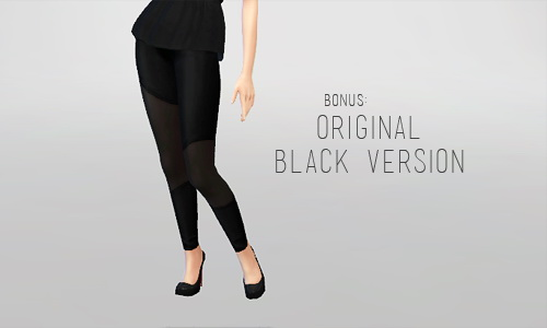 Sims 4 Semi sheer tights at SqquareSims