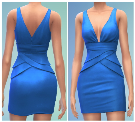6 Formal Dress Recolors at The Simsperience image 415 Sims 4 Updates