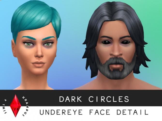 Under Eye Dark Circles At Sims 4 Krampus 187 Sims 4 Updates