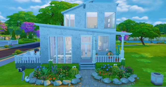 Sims 4 Riverside Shore house at Seventhecho