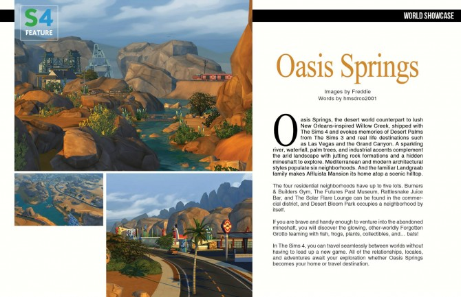 Sims 4 SF Magazine issue 27 – Something Wicked