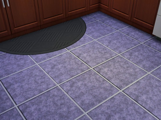 Sims 4 Large Marbled Tile Floor 10 Colors by mustluvcatz at Mod The Sims