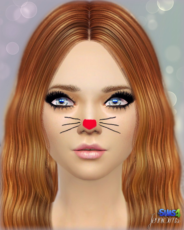 Sims 4 Face paint and mask makeup at Jenni Sims