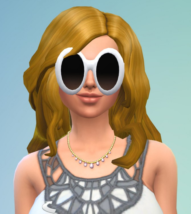 Sims 4 Glasses Slider by EVOL EVOLVED at Mod The Sims