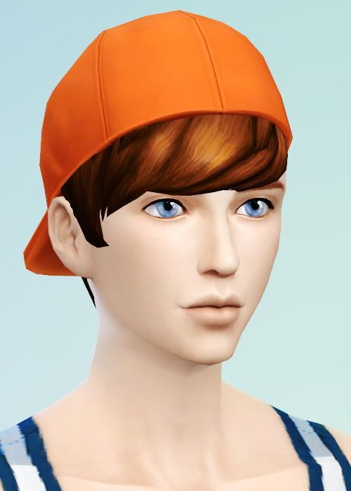 Sims 4 Straight bangs converted for YM at JSBoutique