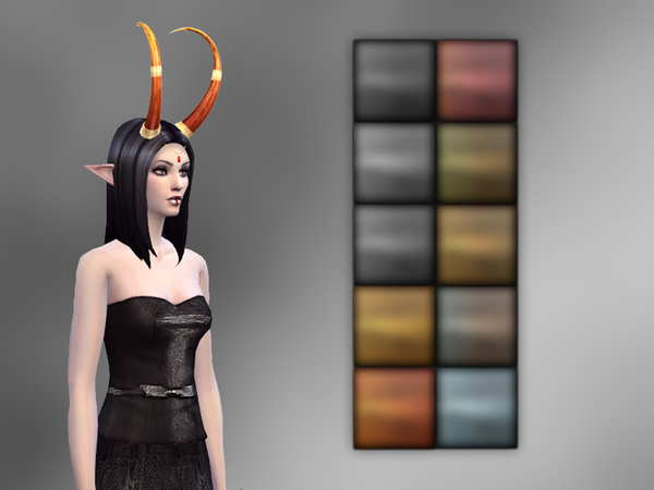 Betrayal Horn by notegain at TSR image 49101 Sims 4 Updates