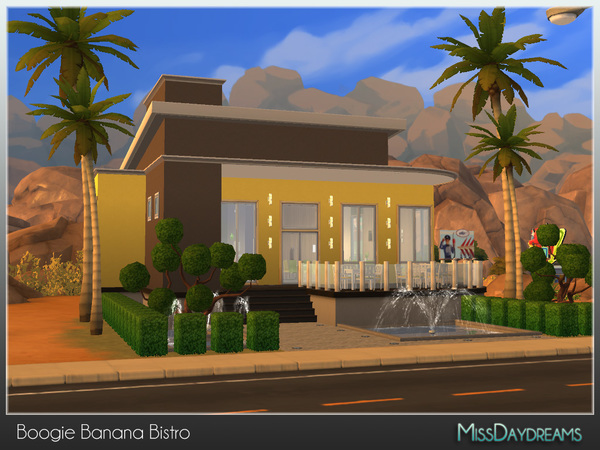 Boogie Banana Bistro by MissDaydreams at TSR image 4912 Sims 4 Updates