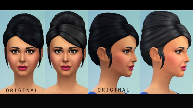 Higher Updo Hair for Females by Julie J at Mod The Sims image 4916 Sims 4 Updates