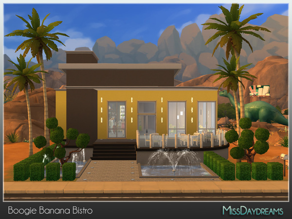 Boogie Banana Bistro by MissDaydreams at TSR image 5010 Sims 4 Updates