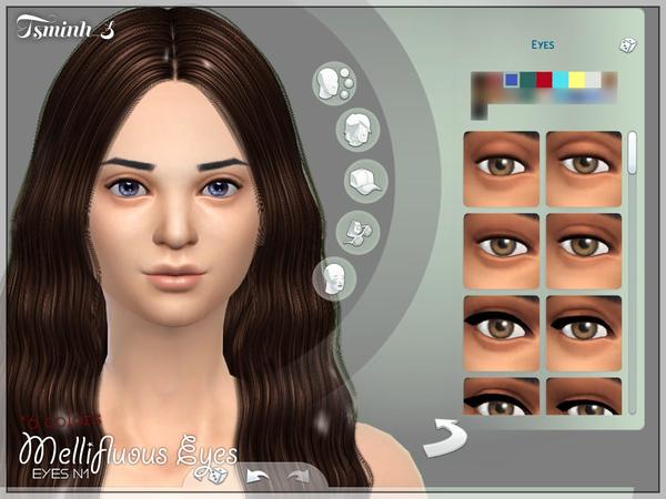 Sims 4 Melliflous Eyes by tsminh 3 at TSR