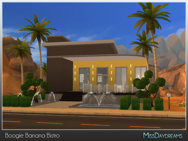 Boogie Banana Bistro by MissDaydreams at TSR image 5117 Sims 4 Updates