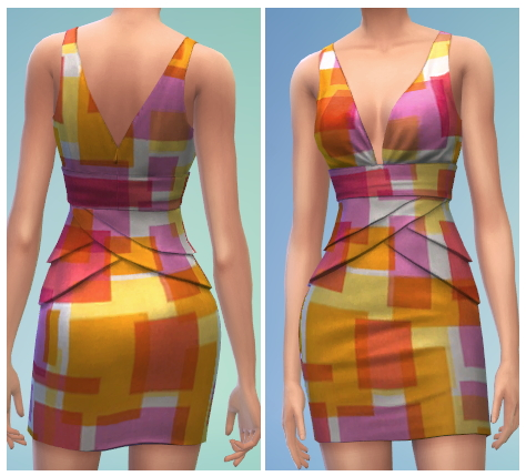 6 Formal Dress Recolors at The Simsperience image 514 Sims 4 Updates