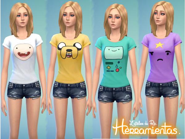 Tops By Herramientas At Tsr 187 Sims 4 Updates