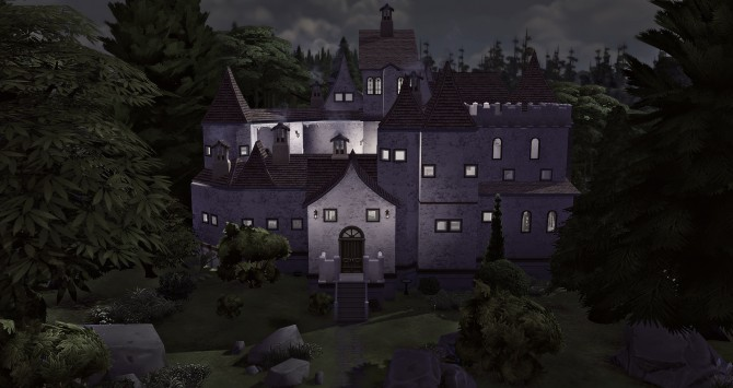 Sims 4 Draculas Bran Castle at Studio Sims Creation