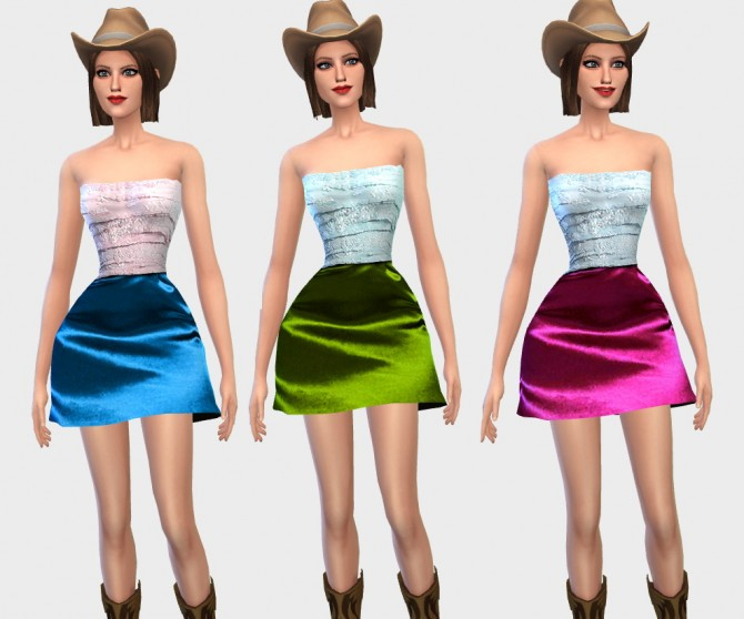 Country chic outfit at Ecoast image 54110 Sims 4 Updates