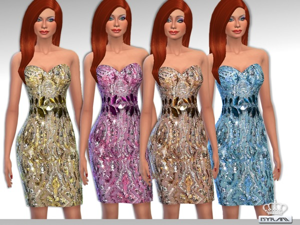 Sequin Dress ZM by EsyraM at TSR image 54111 Sims 4 Updates