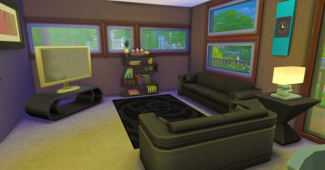 Sims 4 Holbrook Oasis house at Seventhecho