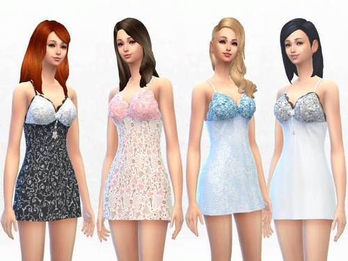 Sims 4 TS4 Clothing Colllection at Sakura