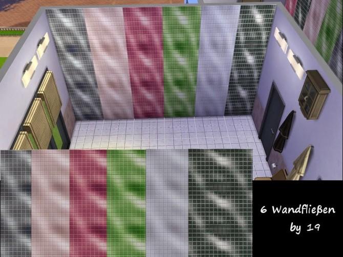Sims 4 Wall tiles Set 1 at 19 Sims 4 Blog