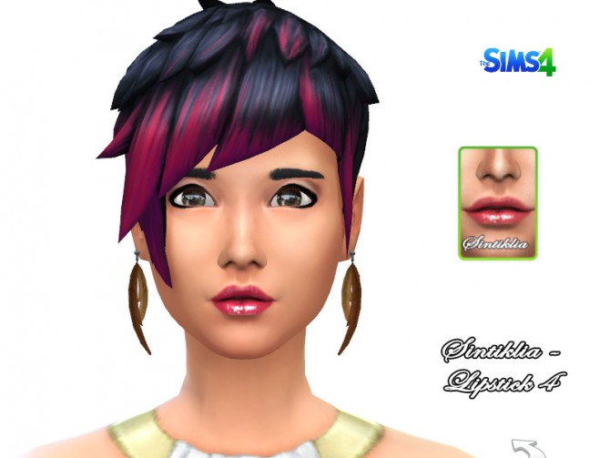 Glossy lipstick 4 at Sintiklia Sims image 560 Sims 4 Updates