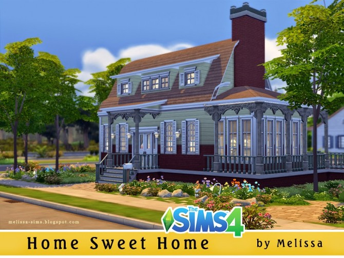 Sims 4 Home Sweet Home at Melissa Sims4