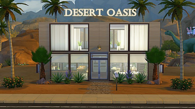Sims 4 Desert Oasis by Tacha75 at Simtech Sims4