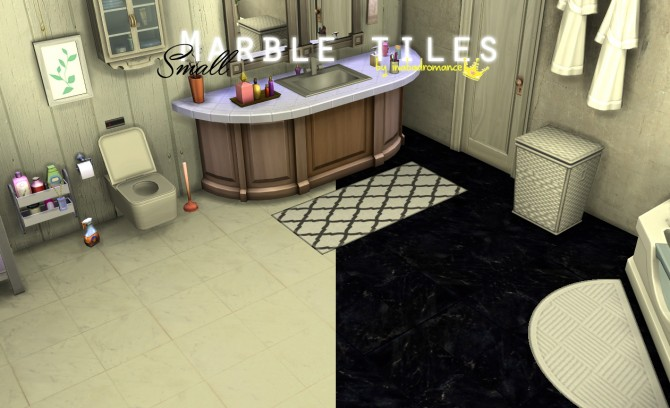 Sims 4 Marble tiles at In a bad Romance