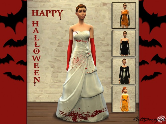 HAPPY HALLOWEEN dresses at Sims Artists image 60111 Sims 4 Updates