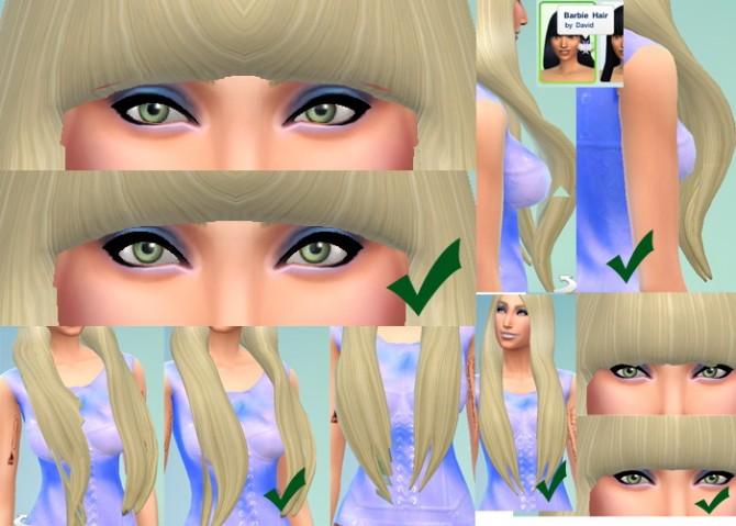 Sims 4 3 Hairs Updated at David Sims