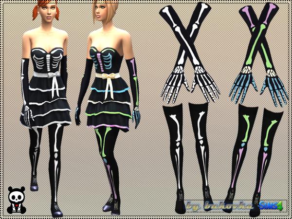 Sims 4 Set Skeleton by bukovka at TSR