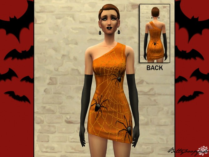 HAPPY HALLOWEEN dresses at Sims Artists image 61121 Sims 4 Updates