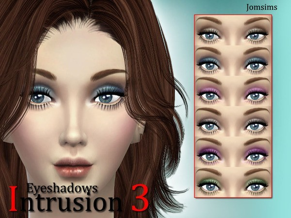Eyeshadows intrusion 3 by Jomsims at TSR image 61131 Sims 4 Updates