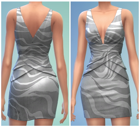 6 Formal Dress Recolors at The Simsperience image 614 Sims 4 Updates
