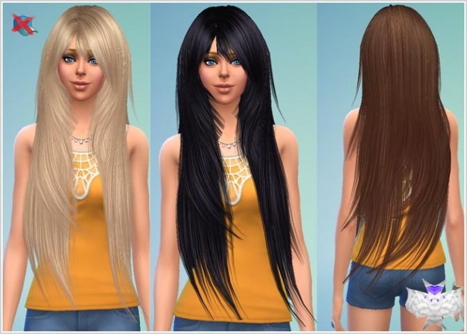 Sims 4 Rose Donation 94 Hair Converted at David Sims