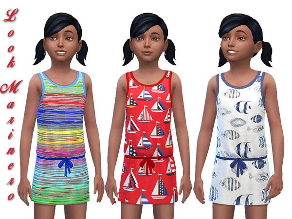 Sailor dresses by Pilar at SimControl image 631 Sims 4 Updates