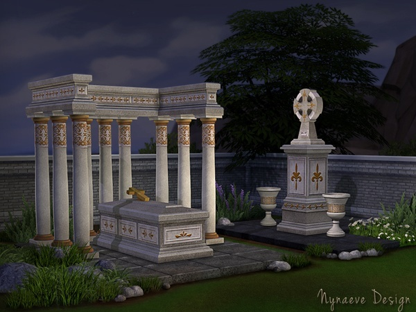 Sims 4 Halloween Props by NynaeveDesign at TSR