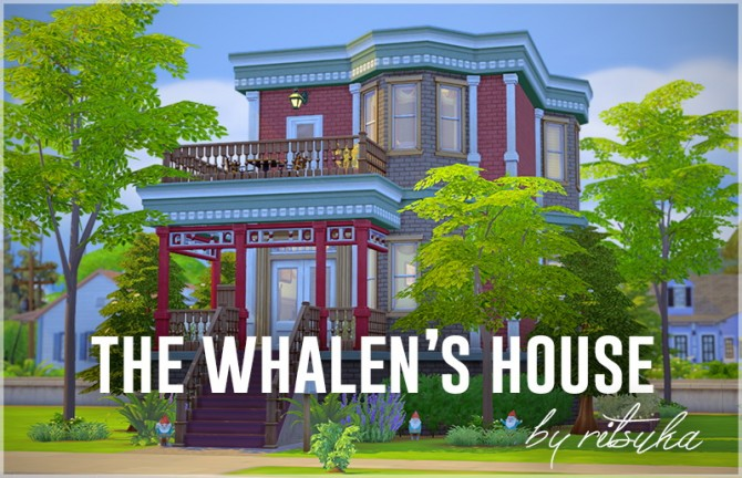Sims 4 The Whalens house at Ritsuka