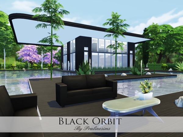 Black Orbit house by Pralinesims at TSR image 6481 Sims 4 Updates
